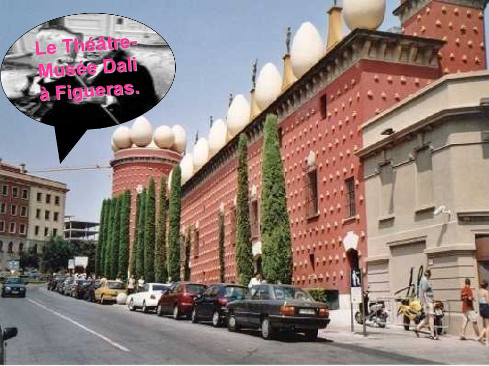 Le Théâtre-Musée Dali à Figueras.