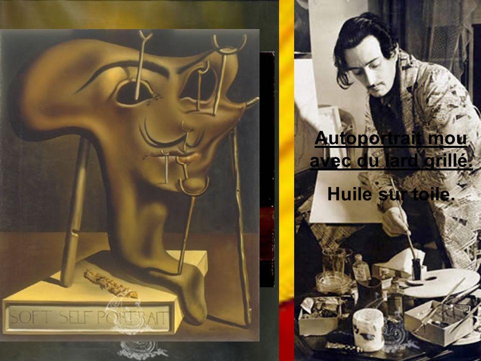 Dali en train de dessiner les décors de Bacchanale.
