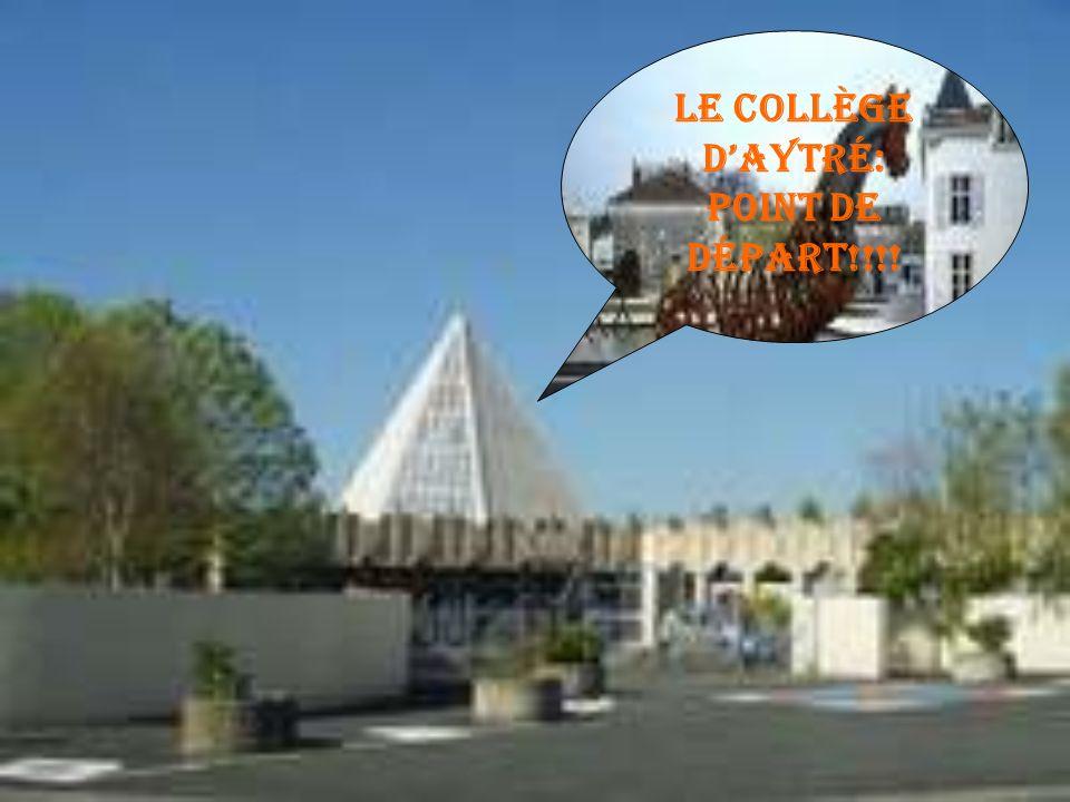 Le collège d'Aytré: Point de départ!!!!