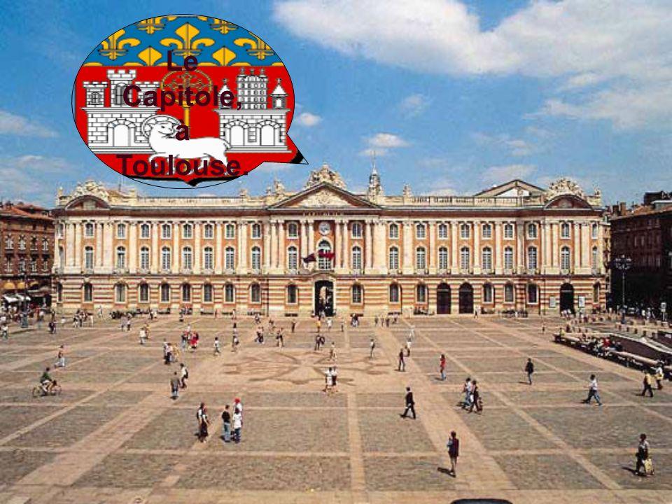 Le Capitole, à Toulouse.