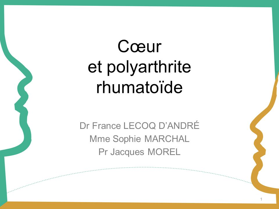 et polyarthrite rhumatoïde