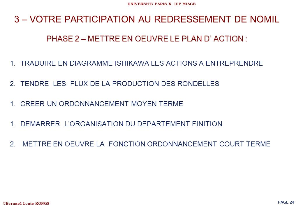 ordonnancement de la production pdf