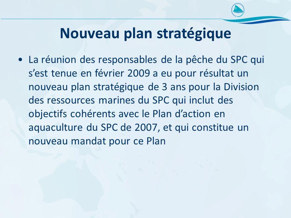 Nouveau plan stratégique