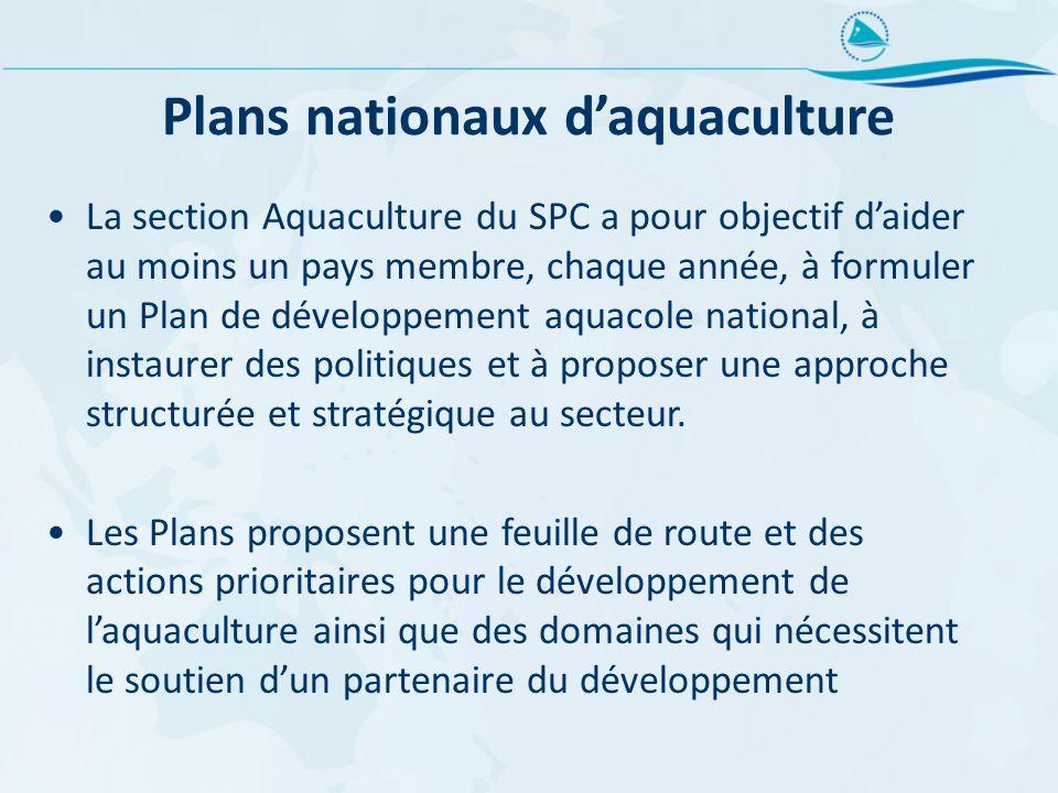 Plans nationaux d'aquaculture