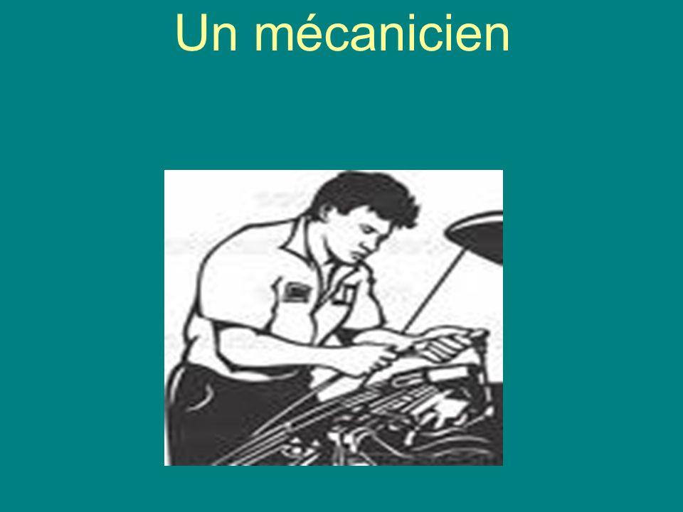 Un mécanicien