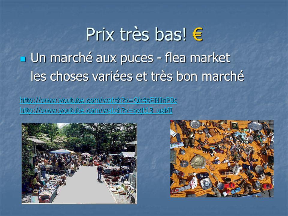 Prix très bas! € Un marché aux puces - flea market
