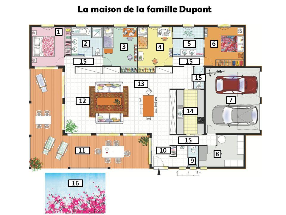 La maison de la famille Dupont
