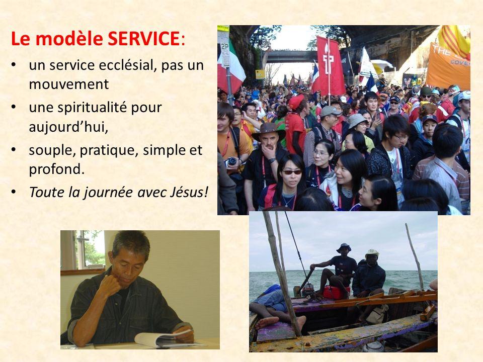 Le modèle SERVICE: un service ecclésial, pas un mouvement
