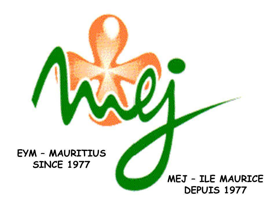 MEJ – ILE MAURICE DEPUIS 1977