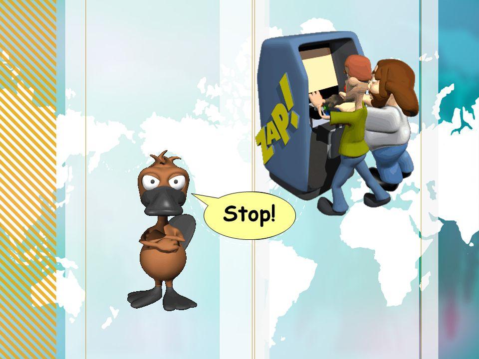 Stop! Eh!