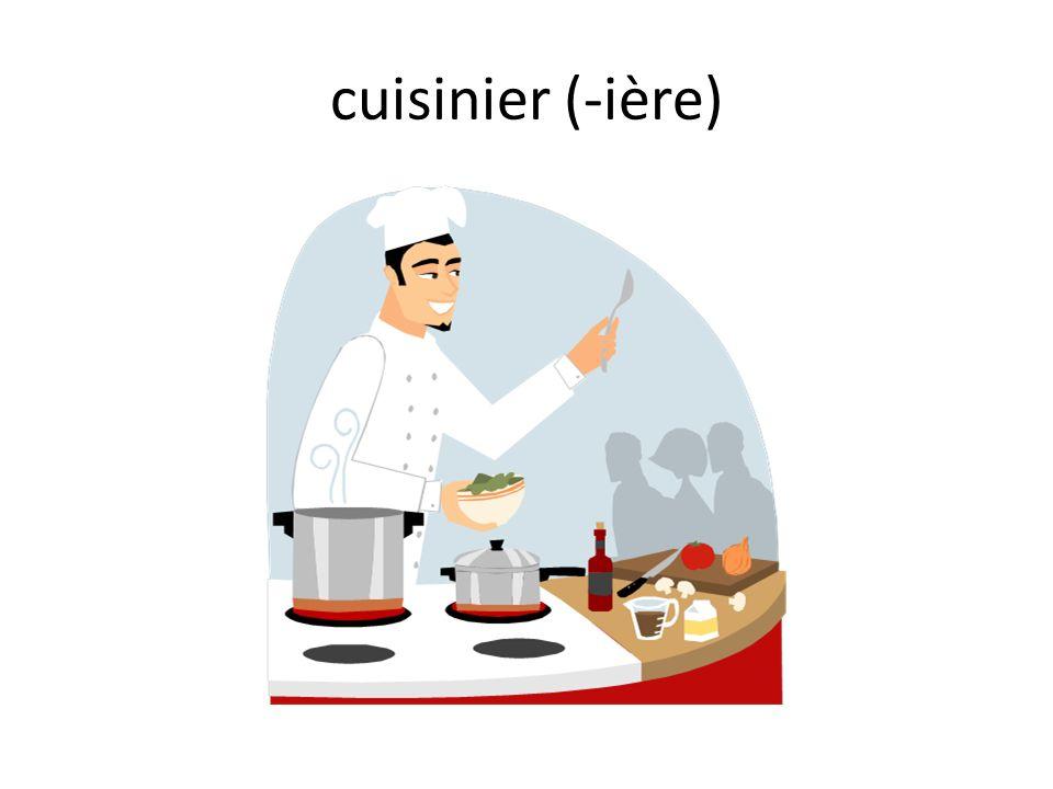 cuisinier (-ière)