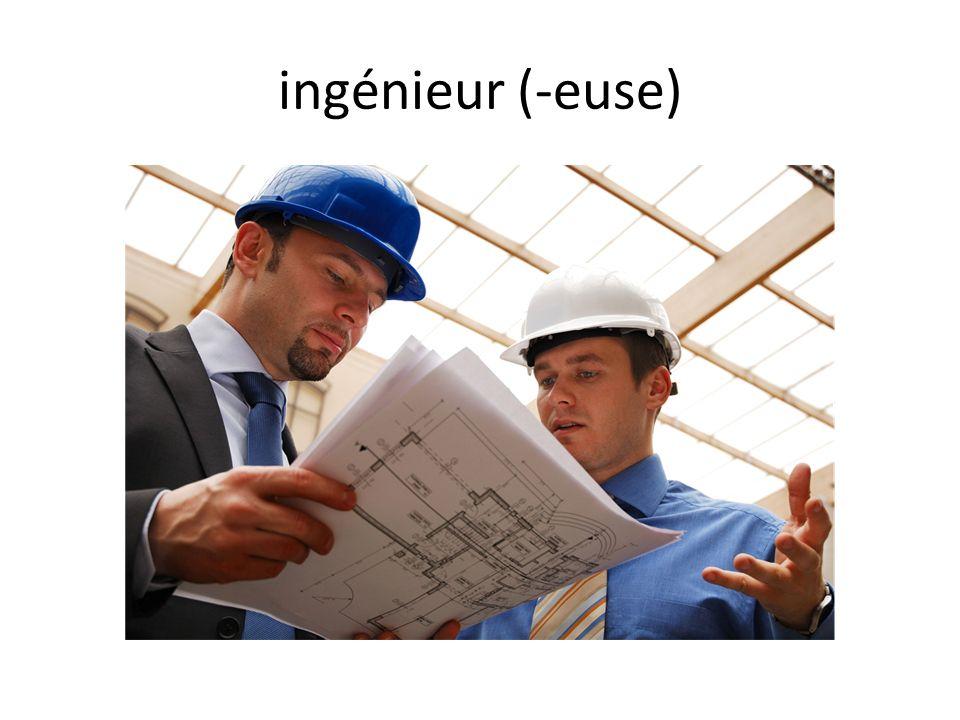 ingénieur (-euse)