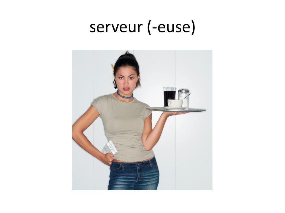 serveur (-euse)