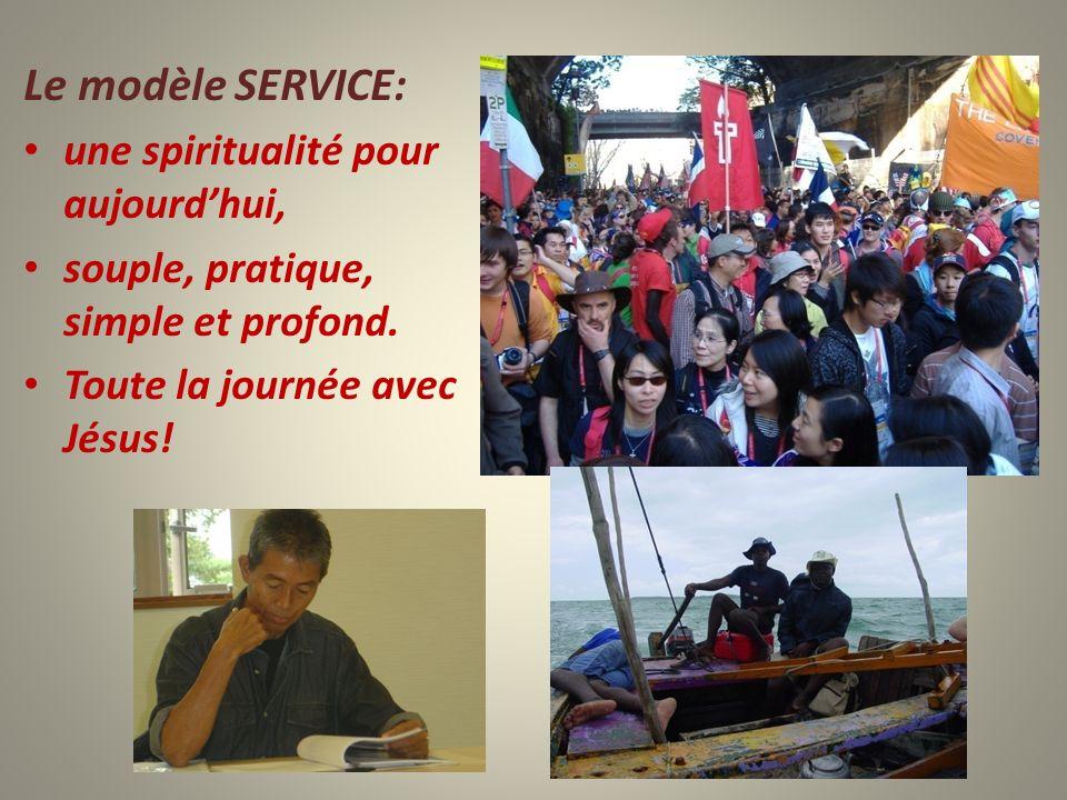 Le modèle SERVICE: une spiritualité pour aujourd'hui,