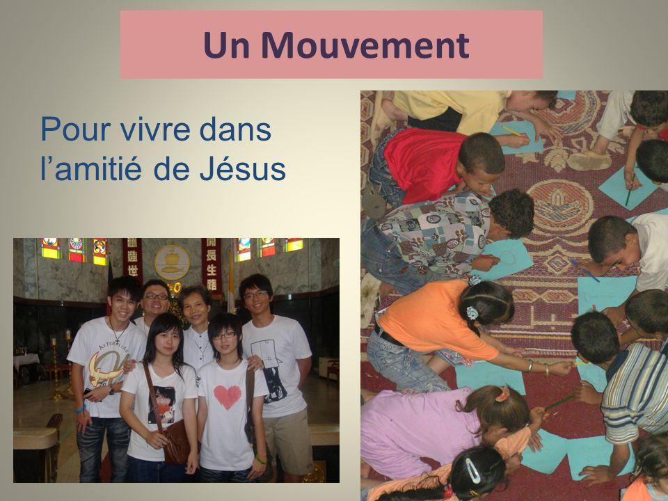 Un Mouvement Pour vivre dans l'amitié de Jésus