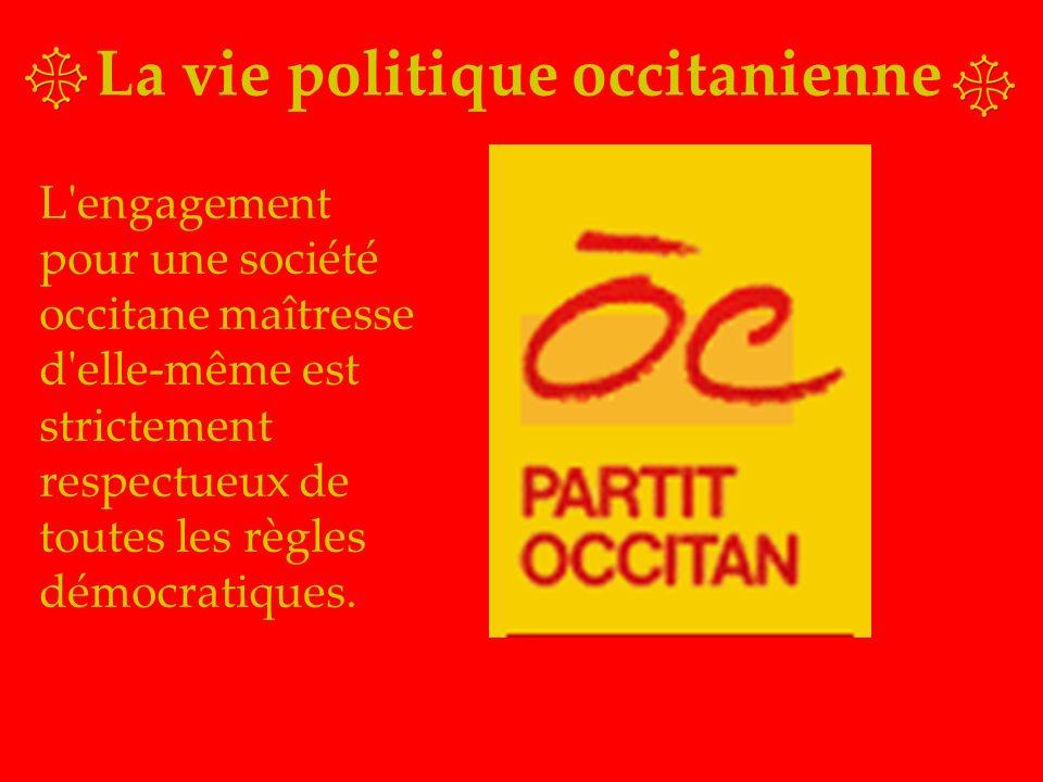 La vie politique occitanienne