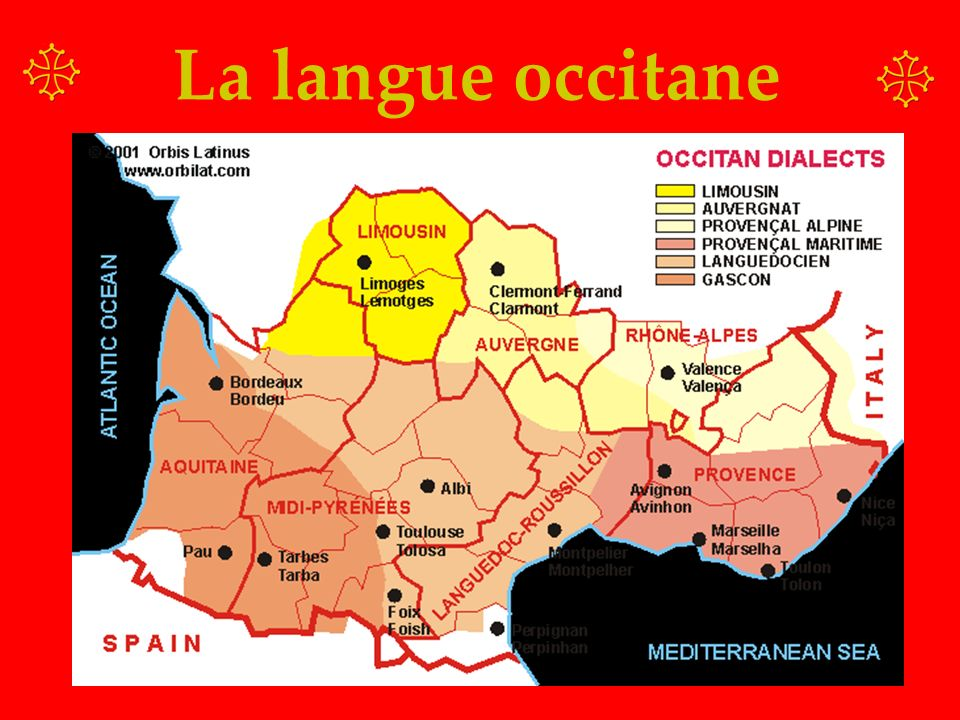 La langue occitane