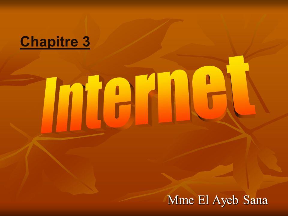Chapitre 3 Internet Mme El Ayeb Sana
