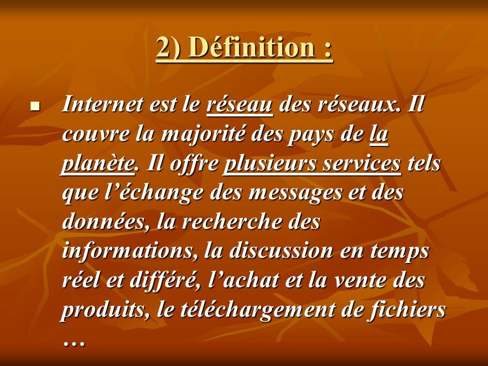 2) Définition :