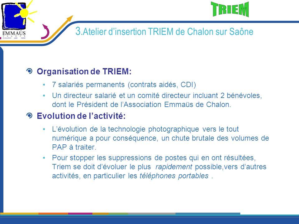 3.Atelier d'insertion TRIEM de Chalon sur Saône