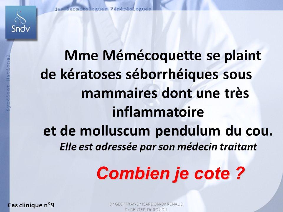 Mme Mémécoquette se plaint