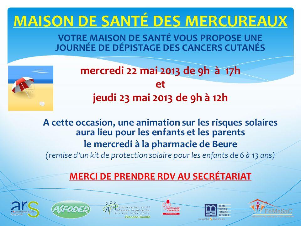 MAISON DE SANTÉ DES MERCUREAUX