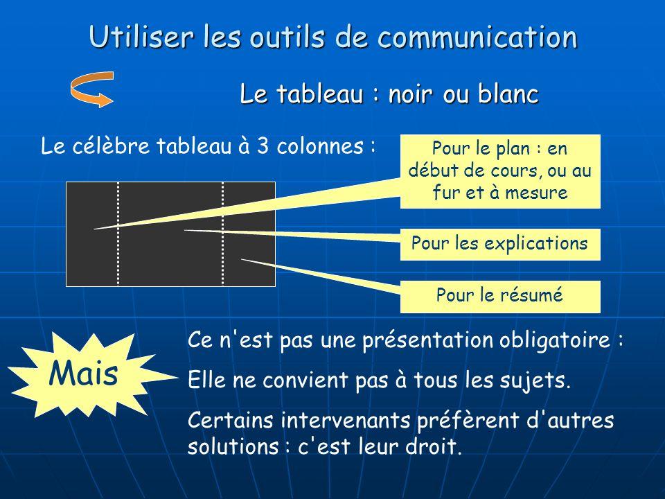 Utiliser les outils de communication