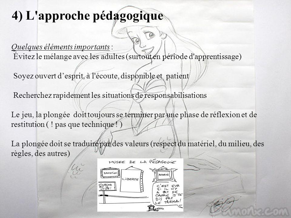 4) L approche pédagogique