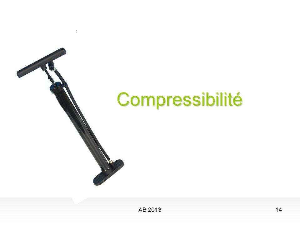 Compressibilité AB 2013