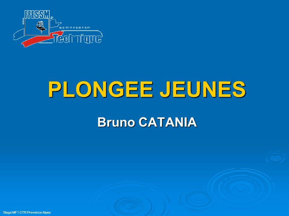 PLONGEE JEUNES Bruno CATANIA