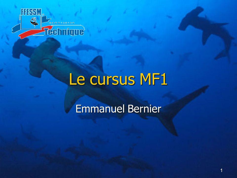 Le cursus MF1 Emmanuel Bernier