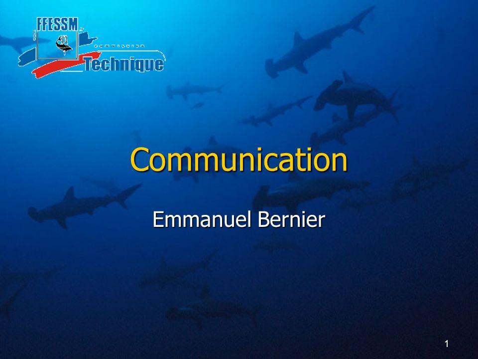 Communication Emmanuel Bernier