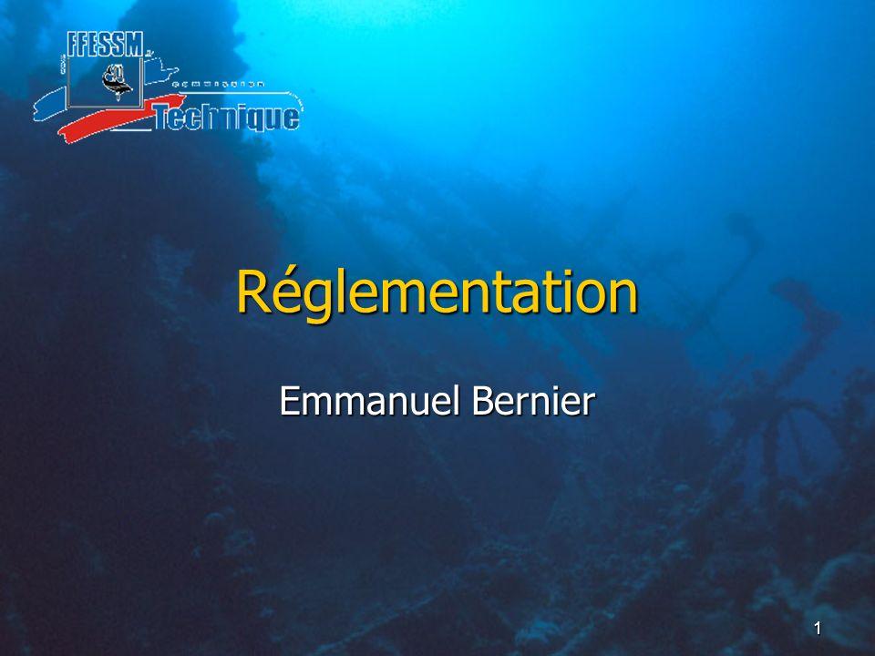 Réglementation Emmanuel Bernier