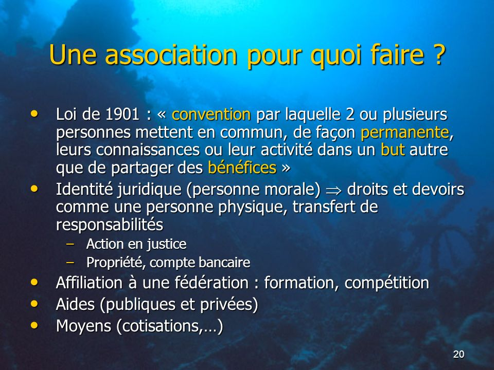 R glementation emmanuel bernier ppt t l charger - Composition bureau association loi 1901 ...