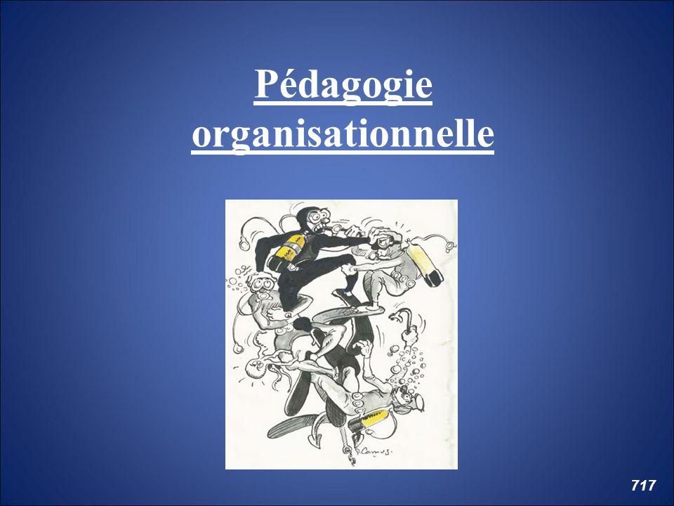 Pédagogie organisationnelle