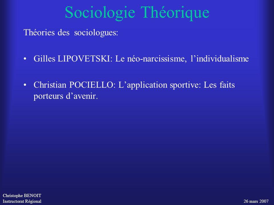 Sociologie Théorique Théories des sociologues: