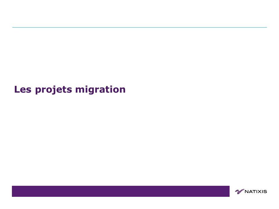 Les projets migration Point Projet : Dimensions 12