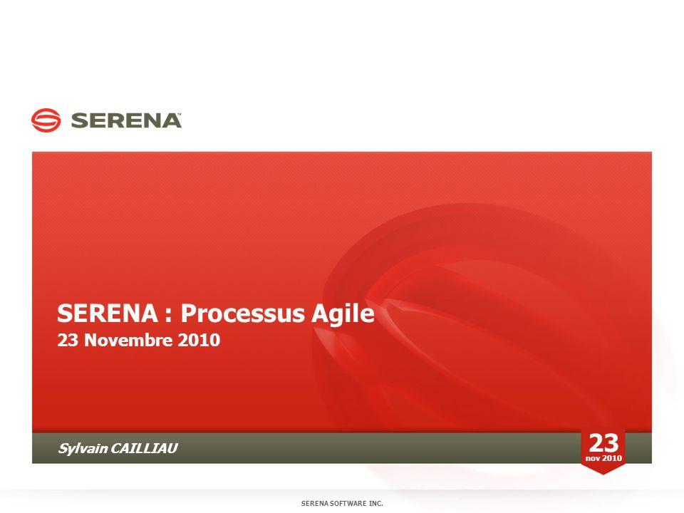 SERENA : Processus Agile