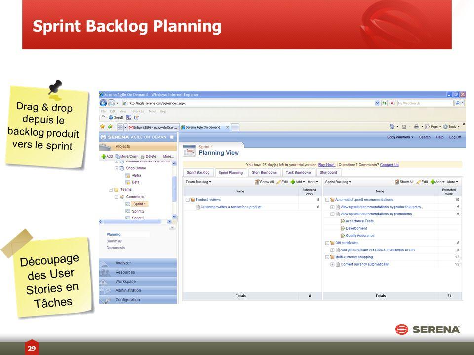 Sprint Backlog Planning