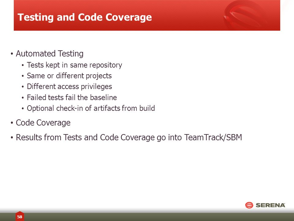 Testing and Code Coverage