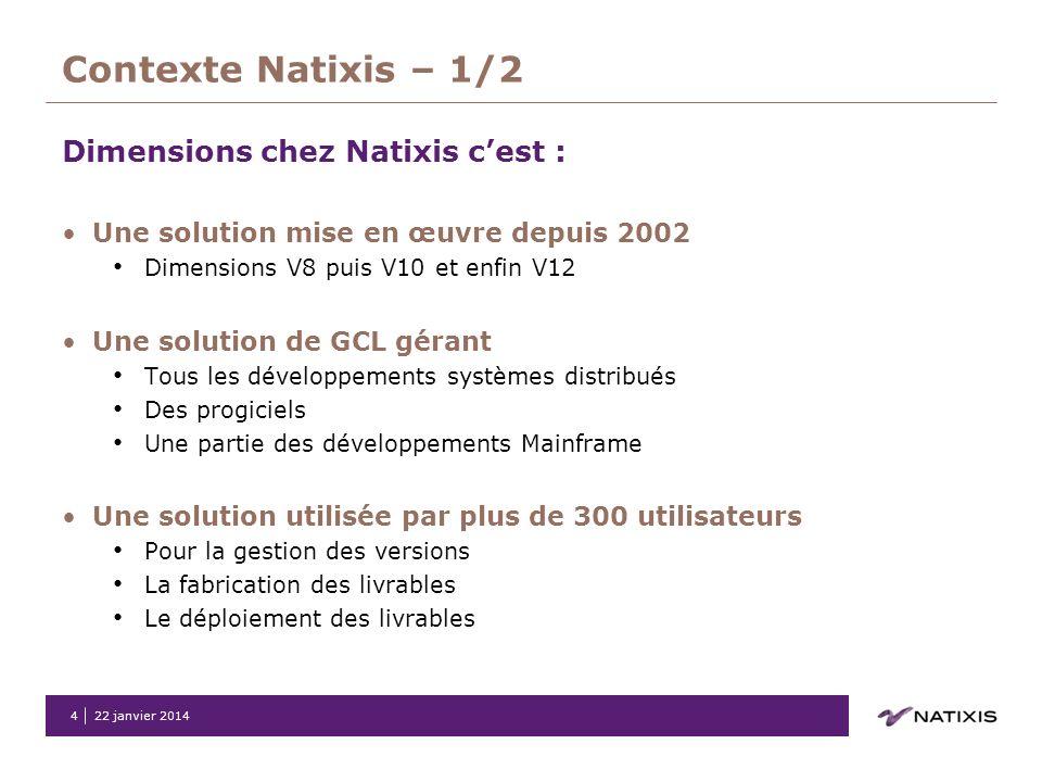 Contexte Natixis – 1/2 Dimensions chez Natixis c'est :