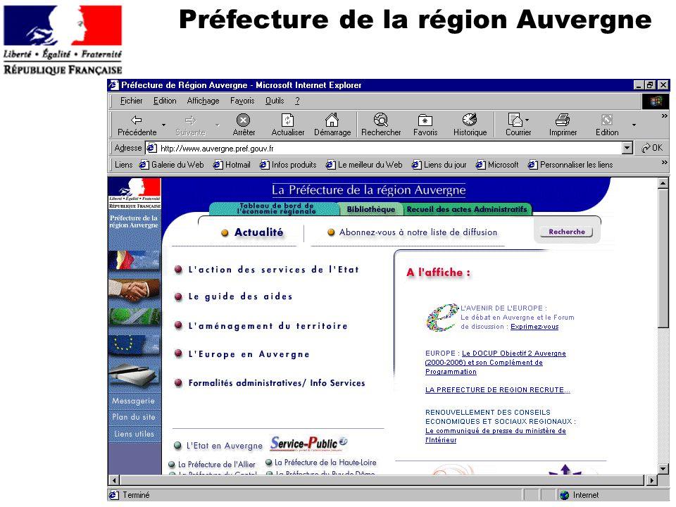 Préfecture de la région Auvergne