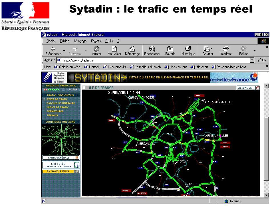 Sytadin : le trafic en temps réel