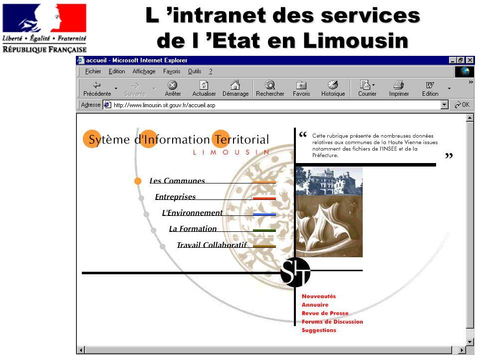 L 'intranet des services de l 'Etat en Limousin