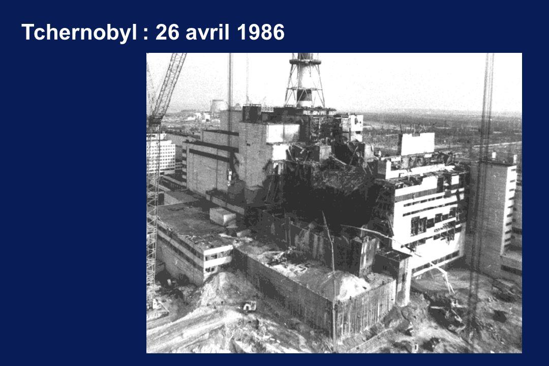 Tchernobyl : 26 avril 1986
