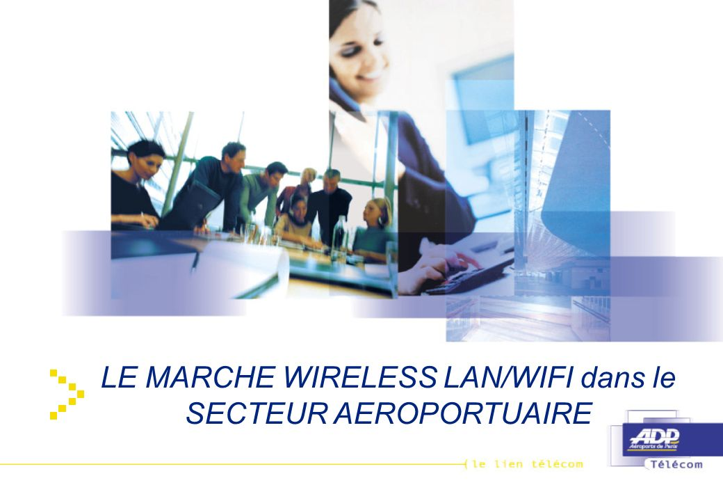 LE MARCHE WIRELESS LAN/WIFI dans le SECTEUR AEROPORTUAIRE