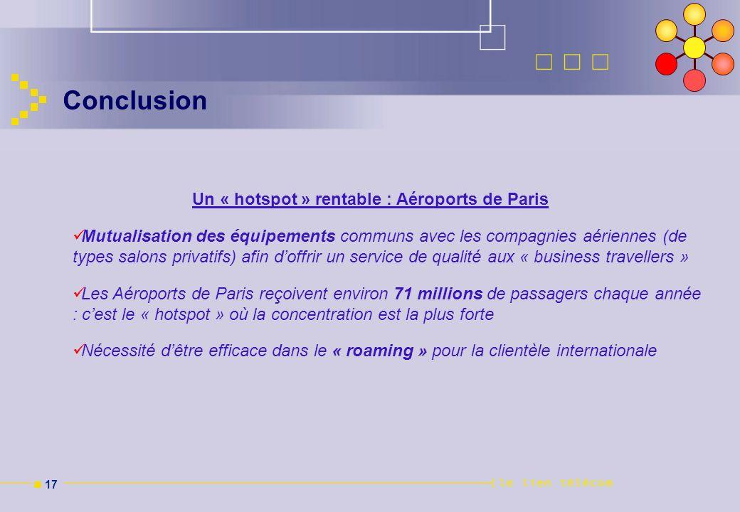 Un « hotspot » rentable : Aéroports de Paris