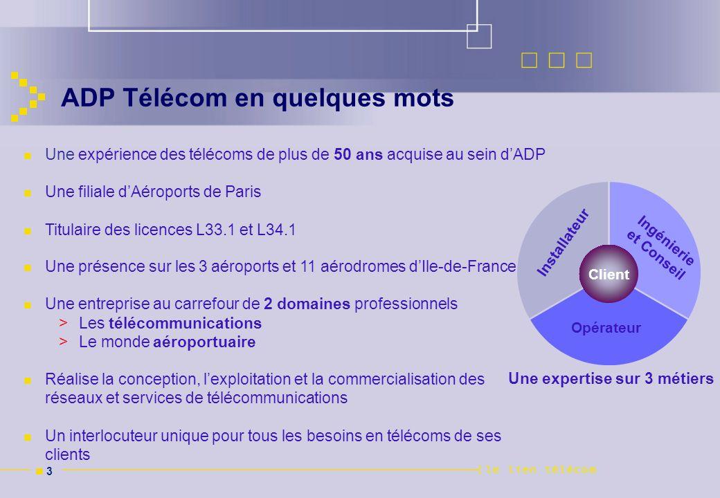 ADP Télécom en quelques mots