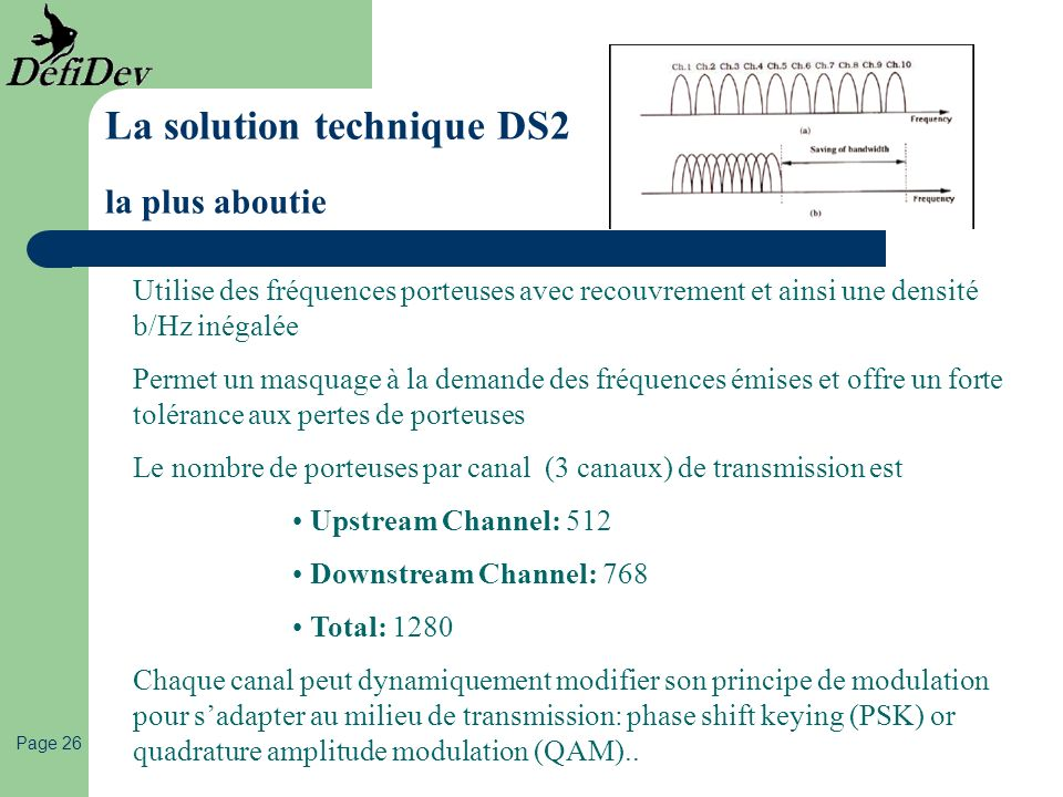 La solution technique DS2