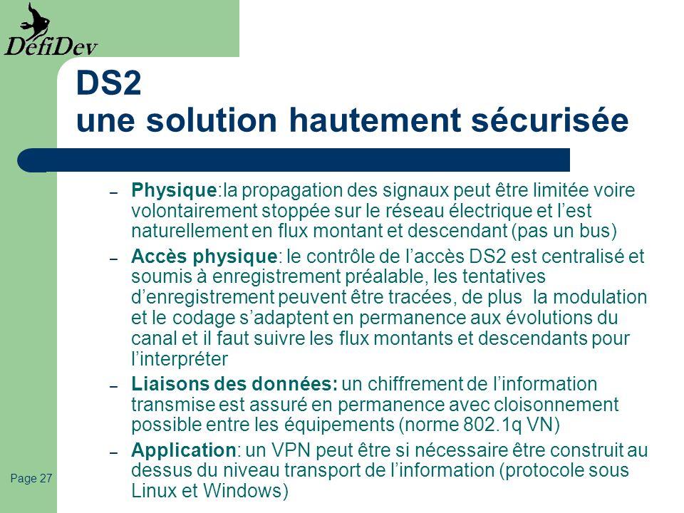 DS2 une solution hautement sécurisée